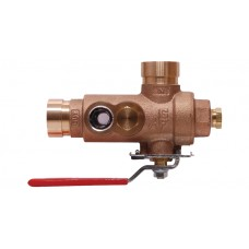 2511 - Test and Drain Valve With Pressure Relief (No PRV Trim)