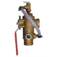 2511A - Test and Drain Valve With Pressure Relief