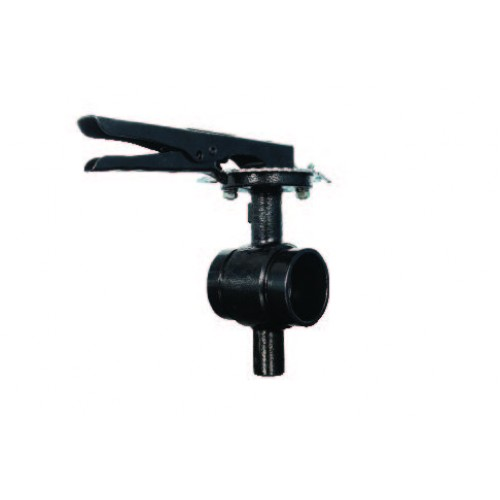 8200lg Lever Lock Handle Butterfly Valve Grooved 300 Psi