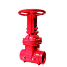 AOSY-GG - OS&Y Gate Valve Grooved Ends