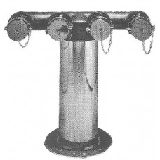 6530 FOUR-WAY FREESTANDING INLET FDC