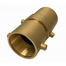 3442-3449 SINGLE AND DOUBLE JACKET BRASS COUPLINGS