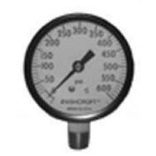 8089 - 1/4 WATER PRESSURE GAUGE (0-600) UL/FM